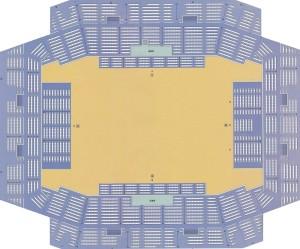 愛知県体育館 座席表